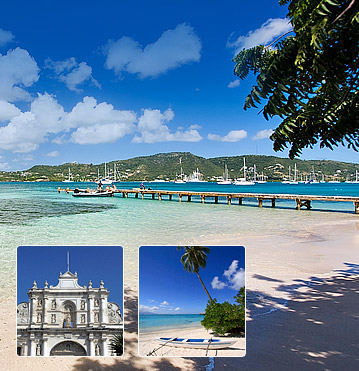 Save on cheap flights to Antigua