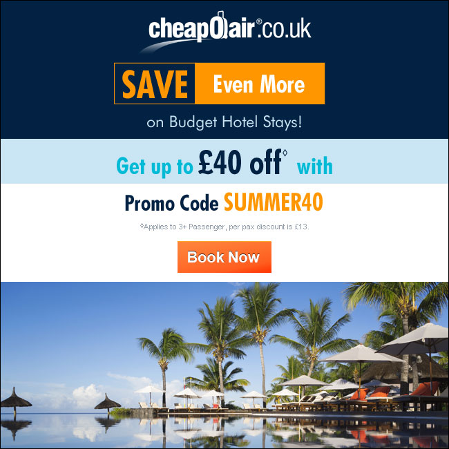 Book Early & Save on Summer Travel! Get up to £15 off with Promo Code EARLY15. Book Now!