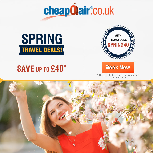 Book a Tropical Getaway! Save up to £40 with Promo Code GETAWAYS40. Book Now!