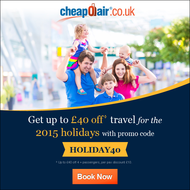 May Day Savings! Get up to £15 off with Promo Code MAYDAY16. Book Now!