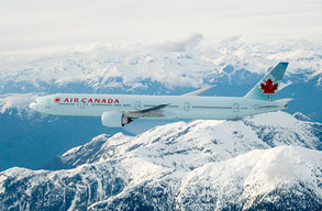 Earn miles with Air Canada