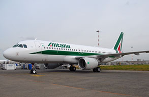 Earn miles with Alitalia
