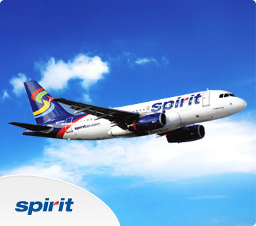 Save on Spirit Airlines Flights