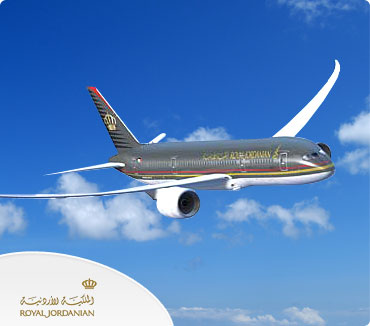 Save on Royal Jordanian Flights