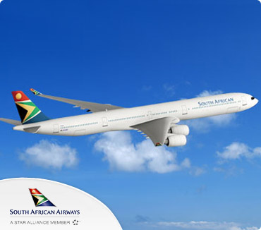 Save on South African Airways Flights