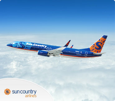 Save on Sun Country Airlines Flights