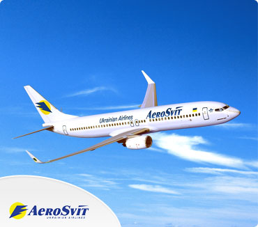 Save on Aerosvit Airlines Flights