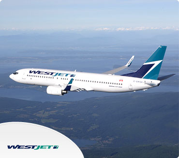 Save on Westjet Airlines Flights
