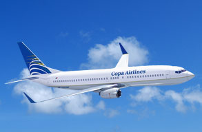 Earn miles with Copa Airlines