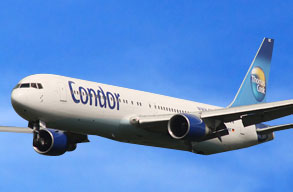 Earn miles with Condor Airlines