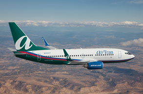 Earn miles with AirTran Airways