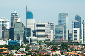Fly with Garuda Indonesia to Jakarta