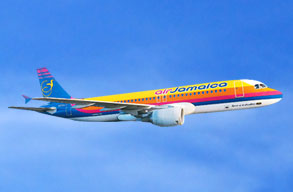 Earn miles with Air Jamaica