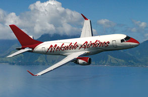 Earn miles with Mokulele Airlines