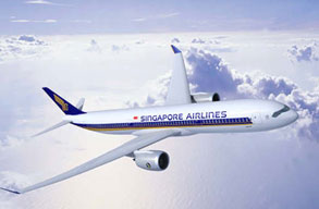 Earn miles with Singapore Airlines