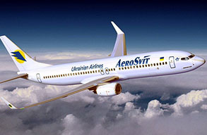 Earn miles with Aerosvit Airlines