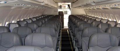Interjet One Class Cabin