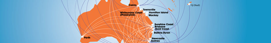 Jetstar Airways Route Map