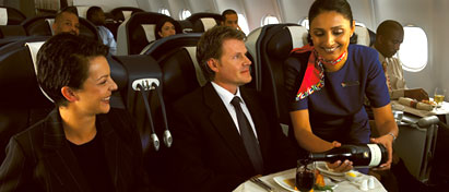 South African Airways Meal