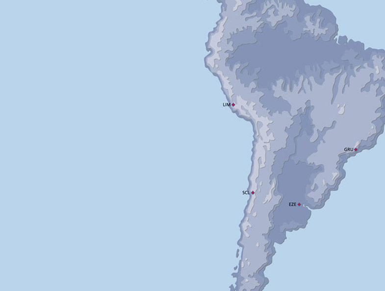 Aeromexico Route