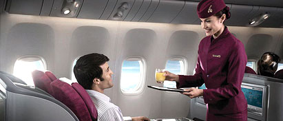 Qatar Airways Business Class Seats