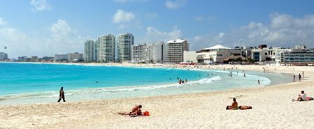 Fly with Interjet to Featured Destination: Cancun