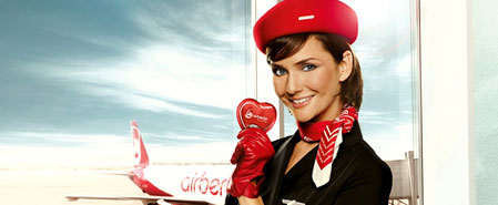 Earn miles with Air Berlin