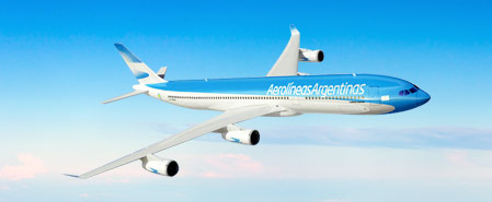 Earn miles with Aerolineas Argentinas