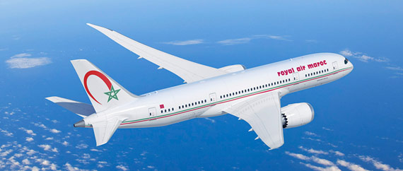 Earn miles with Royal Air Maroc