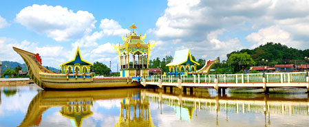 Fly with Royal Brunei Airlines to Bandar Seri Begawan