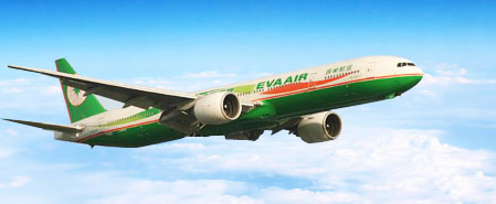 Earn miles with Eva Air