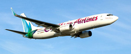 Earn miles with Caribbean Airlines