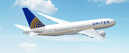 Earn miles with Continental Airlines