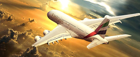 Earn miles with Emirates Airlines