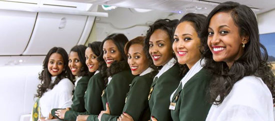 Earn miles with Ethiopian Airlines