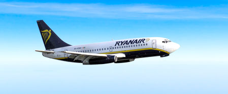 Earn miles with Ryanair