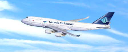 Earn miles with Garuda Indonesia