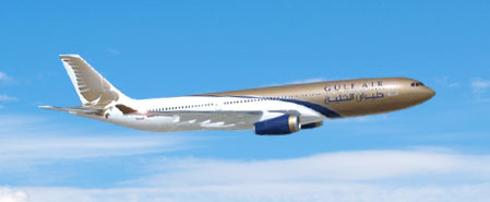 Earn miles with Gulf Air