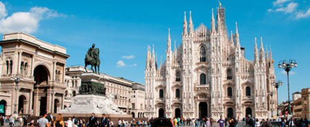 Fly with Uzbekistan Airways to Featured Destination: Milan