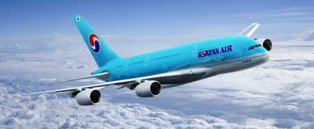 Earn miles with Korean Air