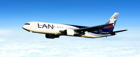 Earn miles with Lan Airlines