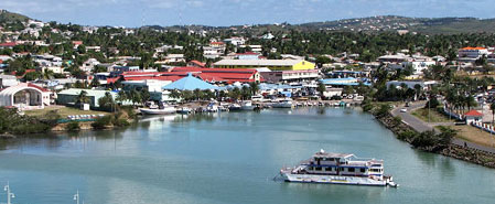 Fly with Liat Airlines to Antigua