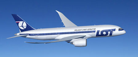 Earn miles with Lot Polish Airlines
