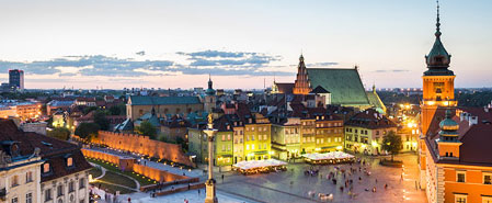 Fly with Lot Polish Airlines to Featured Destination: Warsaw