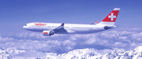 Earn miles with Swiss International Air Lines