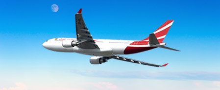 Earn miles with Air Mauritius