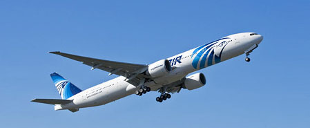 Earn miles with Egyptair