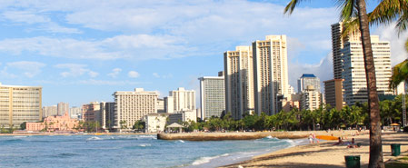 Fly with Mokulele Airlines to Featured Destination:Honolulu