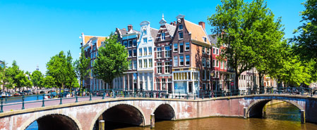 Fly with Surinam Airways to Featured Destination: Amsterdam