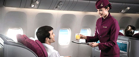 Earn miles with Qatar Airways